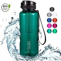 """720°DGREE Trinkflasche """"uberBottle"""" - 1.5 Liter   Wasserflasche Auslaufsicher   Sportflasche   Schule, Sport, Fahrrad   BPA-Frei   Mit Fruchteinsatz"""
