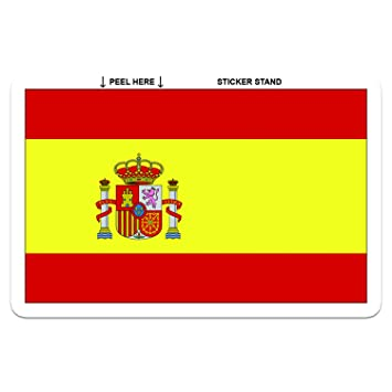 Spanish flag spain car bumper sticker decal 5