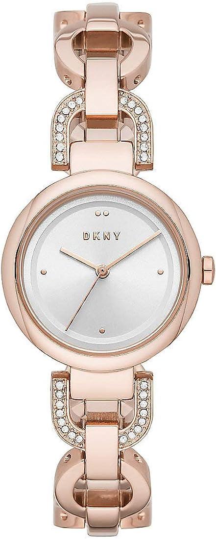 DKNY Eastside - Reloj de Cuarzo para Mujer, Rosegold - NY2851