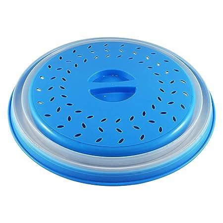 Colonel cook- Campana de cocina para microondas-sin BPA-✮✮GARANTÍA DE POR VIDA✮✮-envase para micro-ondas 3 en 1-Campana para microondas retráctil, ...