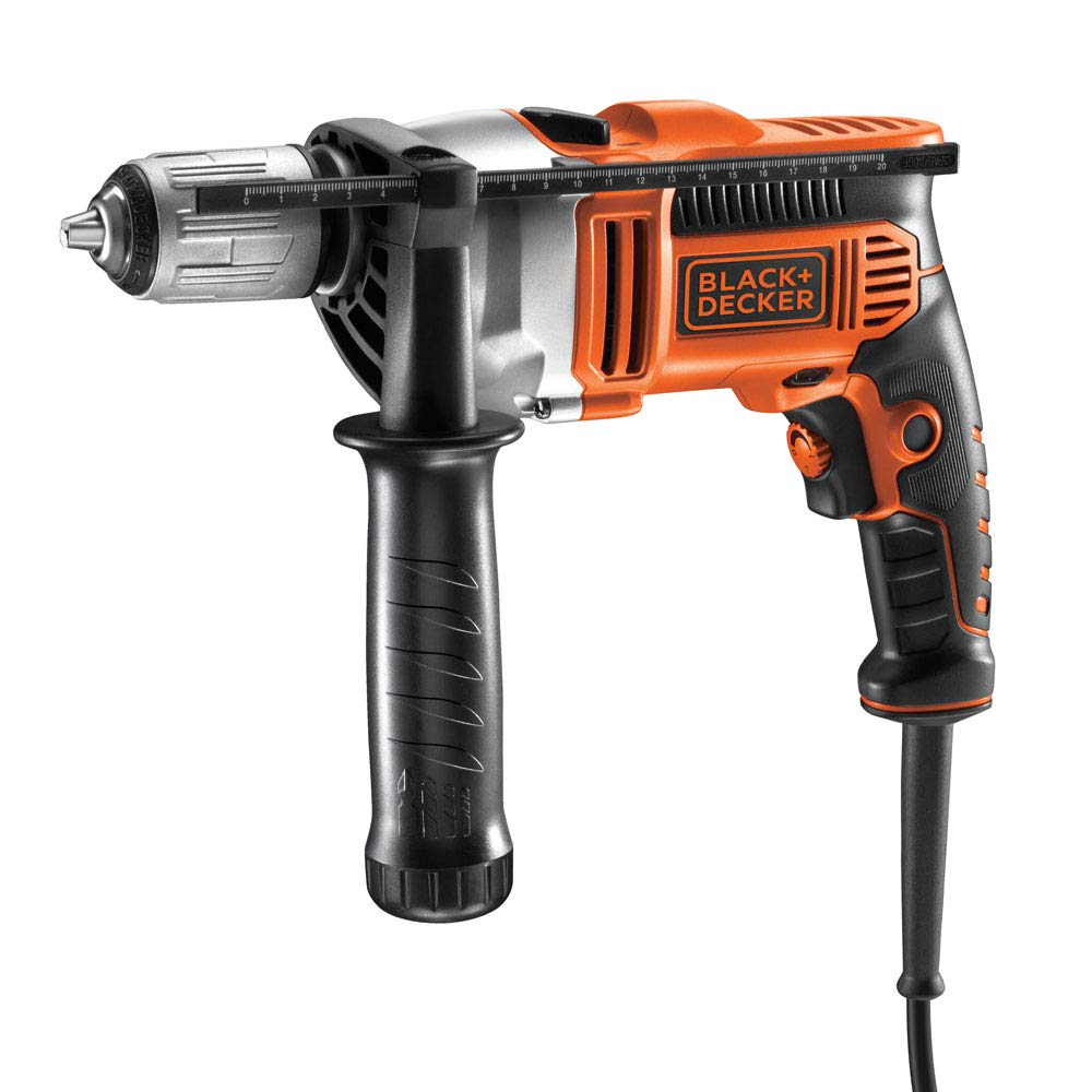 Black + Decker KR604CRESK Perceuse a percussion é lectronique 600 W Stanley Black & Decker France KR604CRESK-QS