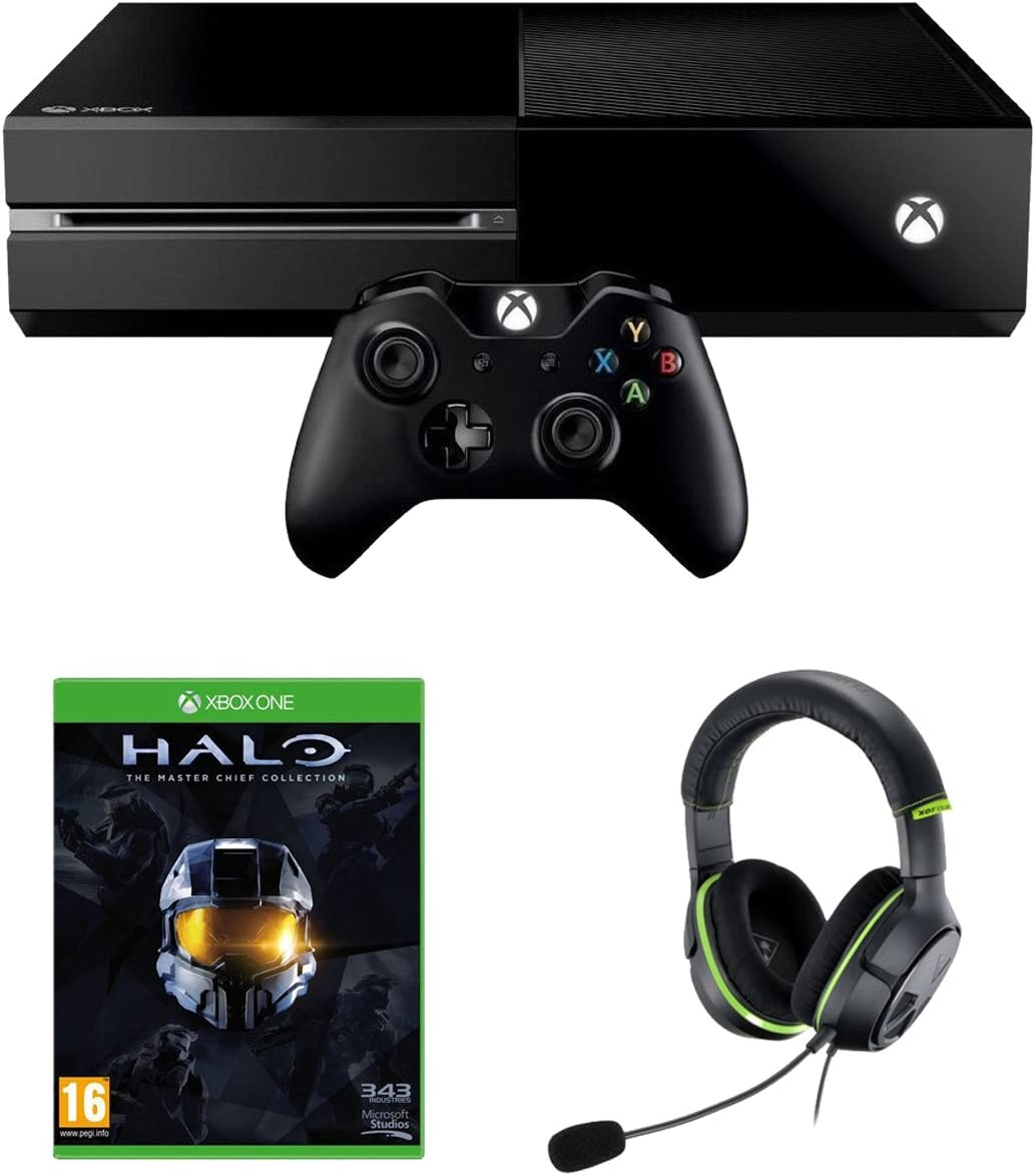 Xbox One Console With Halo: The Master Chief Collection, Turtle ...