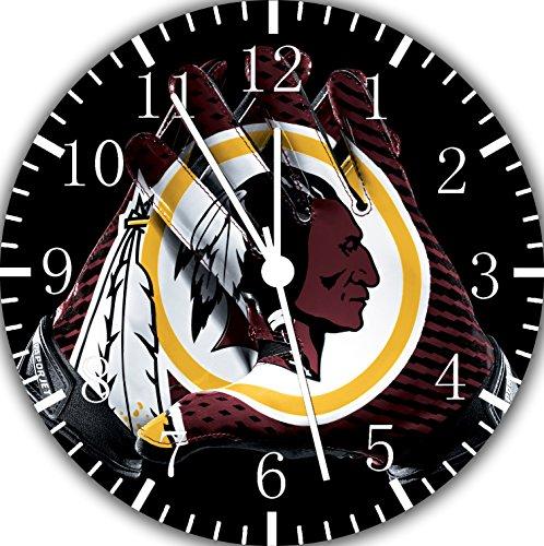Redskins Frameless Borderless Wall Clock F111 Nice for Gift or Room Wall Decor -