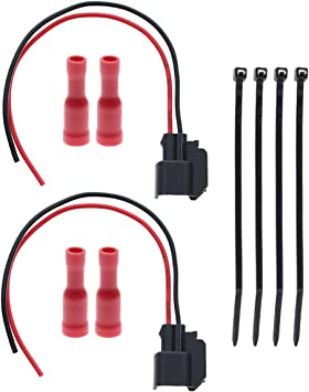 For Polaris Fuel Injector Repair Pigtail Harness Kit RZR 570 4 S 800 4 XP S 900