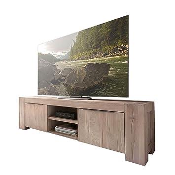 Tv Lowboard Unterschrank Fernsehschrank Granby 160 Cm Massivholz