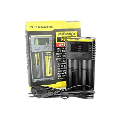 Cargador Nitecore i2 - V3 - Chargeur daccus No nicotina ni ...