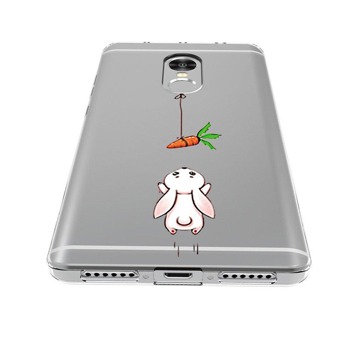 Caler ® Funda Compatible/Reemplazo para Redmi Note 4 / Note 4X Funda,Suave TPU Gel Silicona Ultra-Delgado Ligera Anti-rasguños Protección Patrones ...