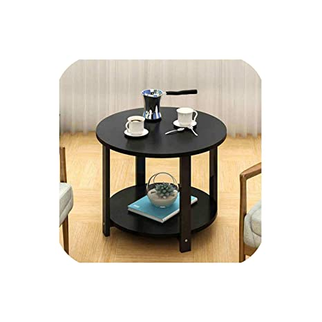 Amazon.com: Mesa de café pequeña, mesa de esquina simple ...
