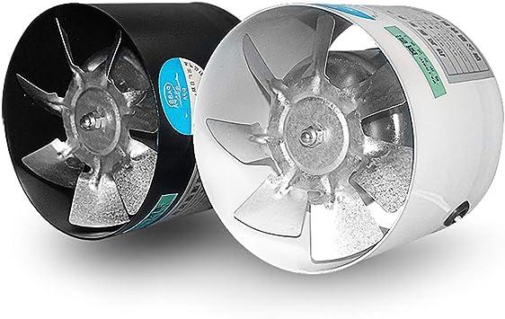 Xcmenl Afvoerluchtventilator 115 Mm Buisventilator 450 M3 U Efficiente Ventilatie Voor Badkamer En Keuken Met Een Laag Energieverbruik 2 Pak Amazon Nl
