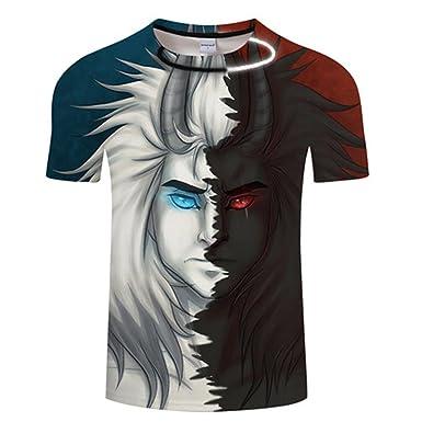 501d9851 Funny Eye Tshirt Men T Shirt Snake T-Shirt 3D Anime Tee Summer Short Sleeve