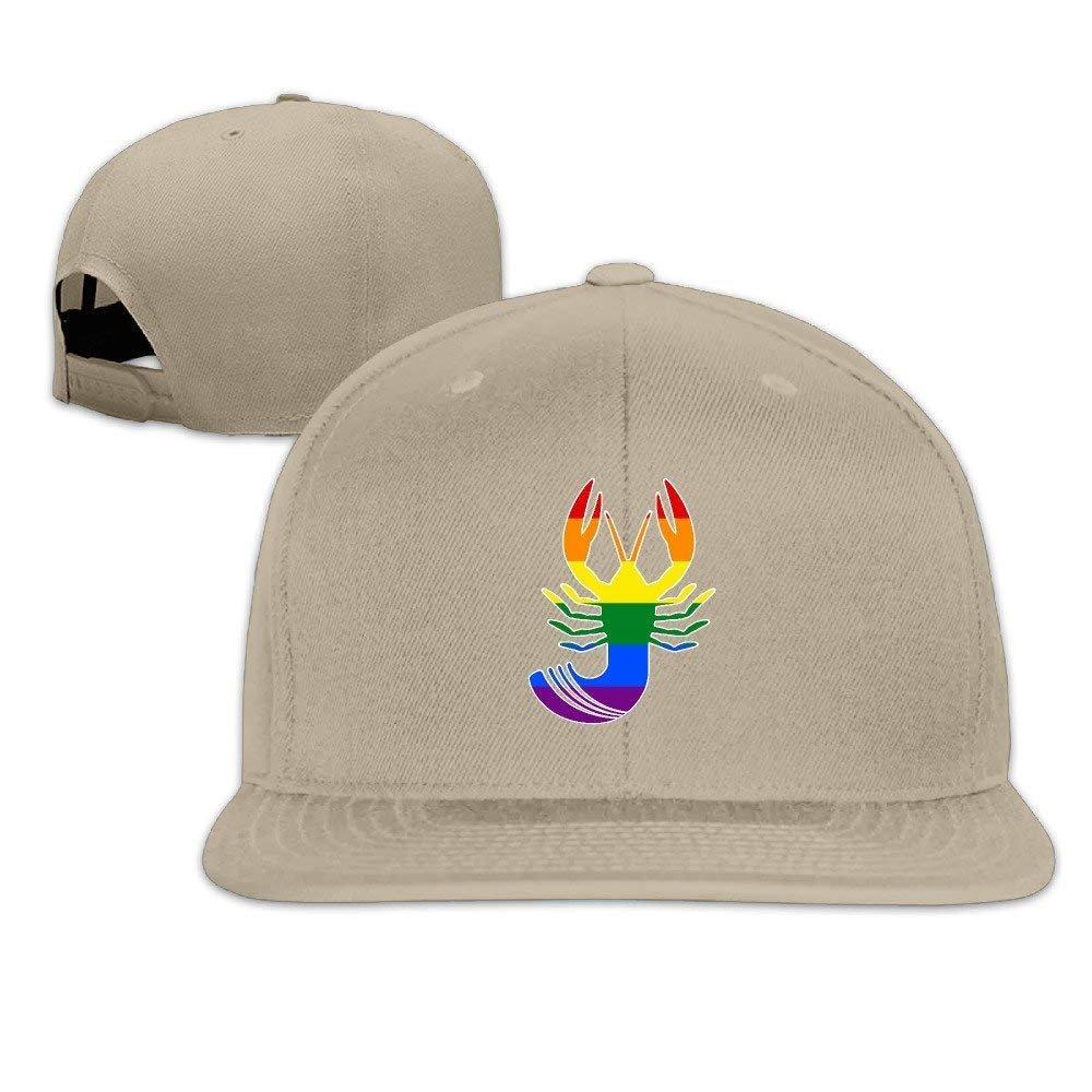 Equality Crawfish Trendy Adjustable Snapback Baseball Cap Hip-hop Hats