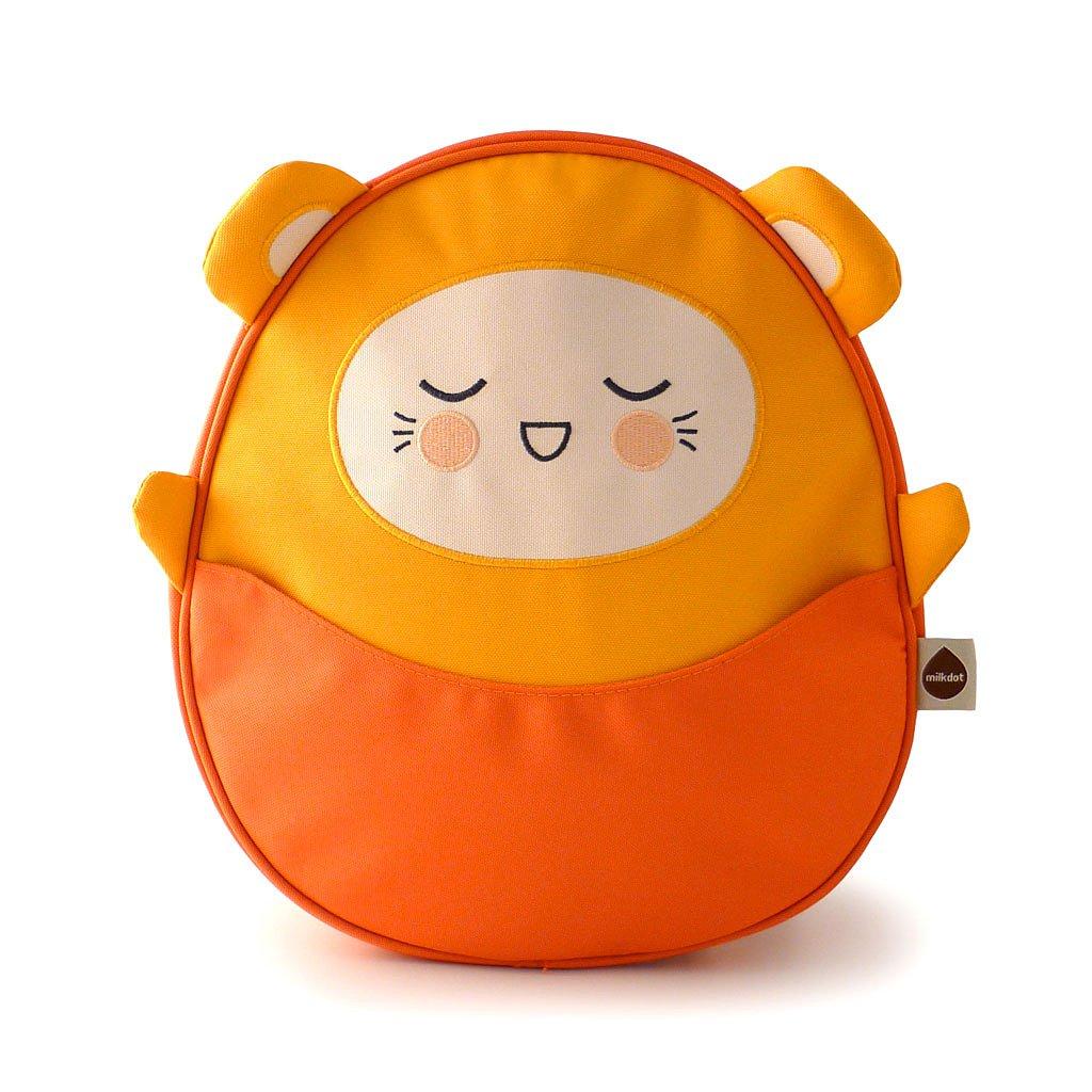 Milkdot Kawaii Pac Mini Backpack, Orange/Charlie by Milkdot   B00SIPP60I