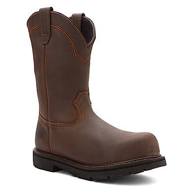 812f31b7407 McRae Industrial Men's Pull-On Work Boot Steel Toe