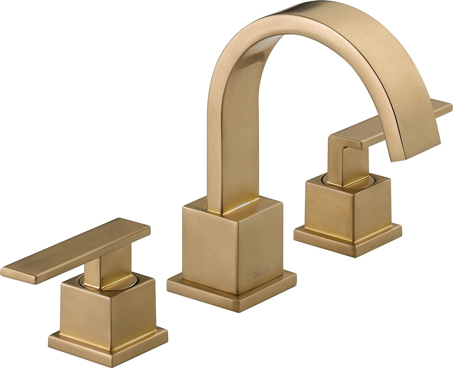 delta classic at handle faucet pd polished lowes com shop brass
