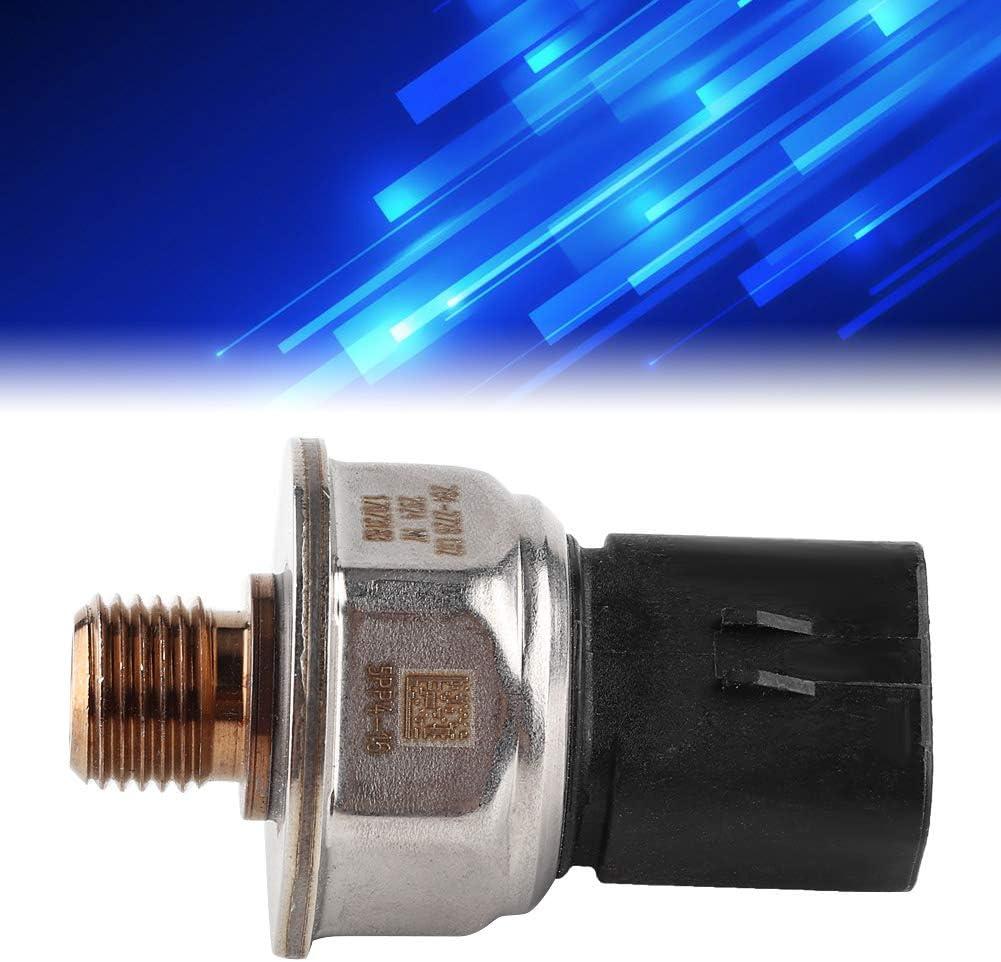 Qiilu 284-2728 13145690 Fuel Rail Pressure Sensor Fit Compatible with Caterpillar C13 C15 C16
