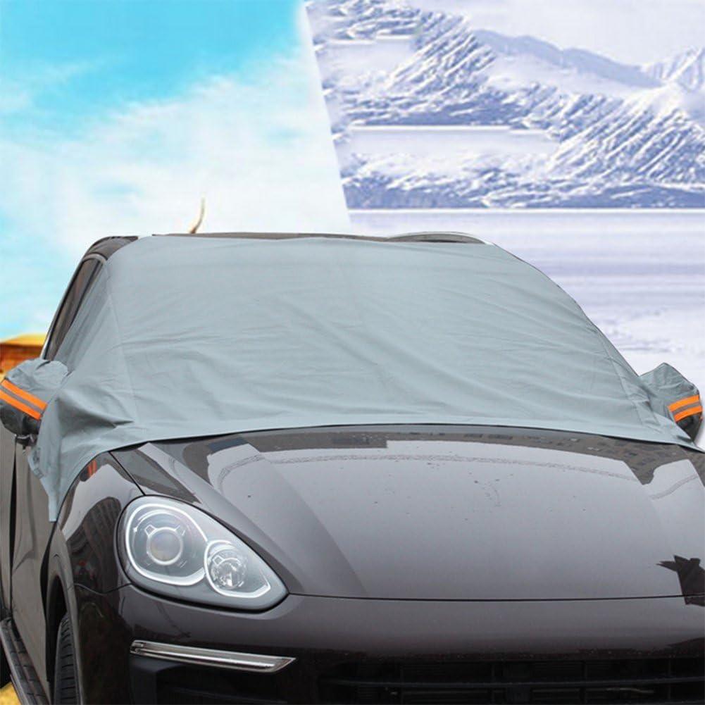 Chytaii Auto Abdeckung Für Windschutzscheibe Schutz Vor Schnee Frost Und Sonnenstrahlen 2 4 X 1 8 X 1 5 M Auto