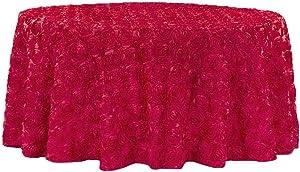 Round Satin Tablecloth - 132
