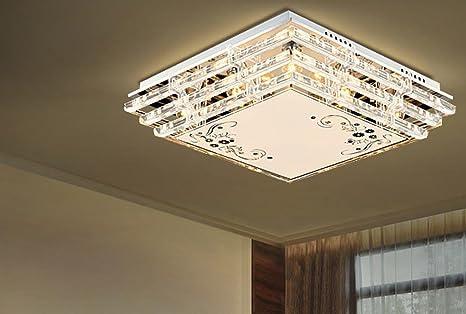 OLQMY-LED, Deckenleuchte, Kristall-Lampen, Wohnzimmer ...