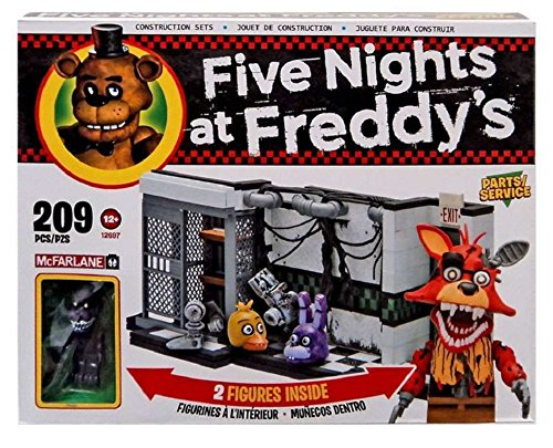 Book Character Costumes Adults Uk (McFarlane Five Nights at Freddy's Parts/Service Exclusive 209 piece building set)