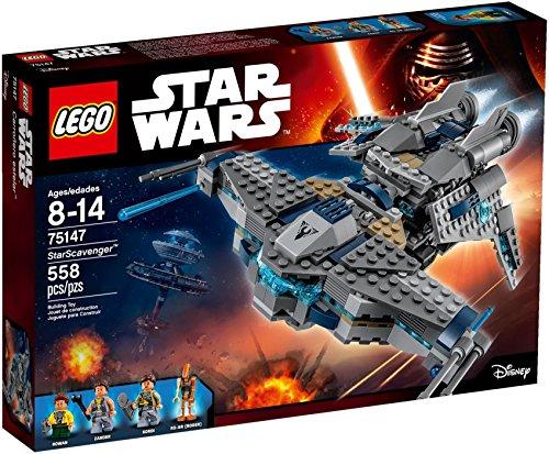 LEGO Star Wars – StarScavenger, Juguete de Construcción de Nave Espacial de la Saga La Guerra de las Galaxias (75147)