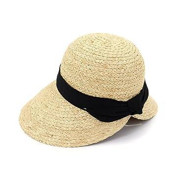 Yaojiaju Sombreros de paja de verano 3e4aa8e456a9