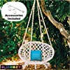 Swingzy-Make-In-India-Cotton-Rope-Hanging-Swing-for-Adults-Kids-for-Indoor-Outdoor-Home-Patio-Yard-Balcony-Garden-100-Kg-Capacity-White