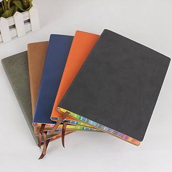 Amazon.com : 2015 Leather Diary Agenda Vintage Notebook ...