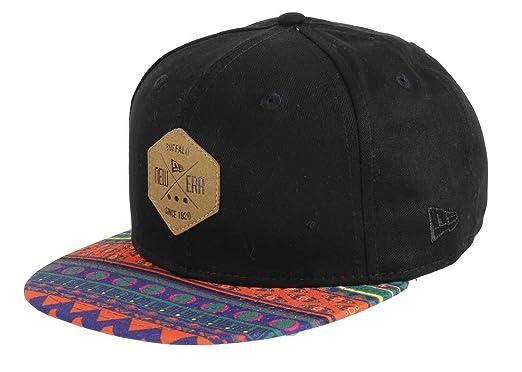 71ec829bea6 New Era - 9fifty Snapback - Sunny Snap Hexagon Patch - Black   Multi - S-M