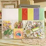 WuKong Creative DIY Christmas Card Craft Materials Package Christmas Card Making Materials Christmas Cheer Card Making Kits (#3)