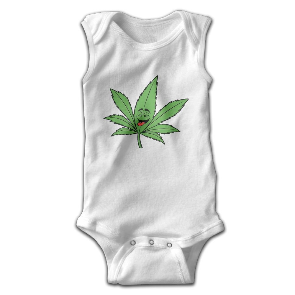 Ganja Leaf Weed Smokers Sleeveless Bodysuits Rompers Outfits