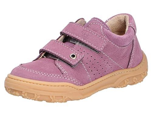 Ricosta Mädchen Halbschuh Gr 26 lila klett sneaker