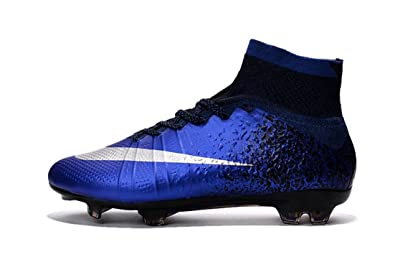 PELTAET - Men s Mercurial Superfly Soccer Boots FG Hi Top Football Shoes  Soccer Boots (6.5 d2c75680a2f8