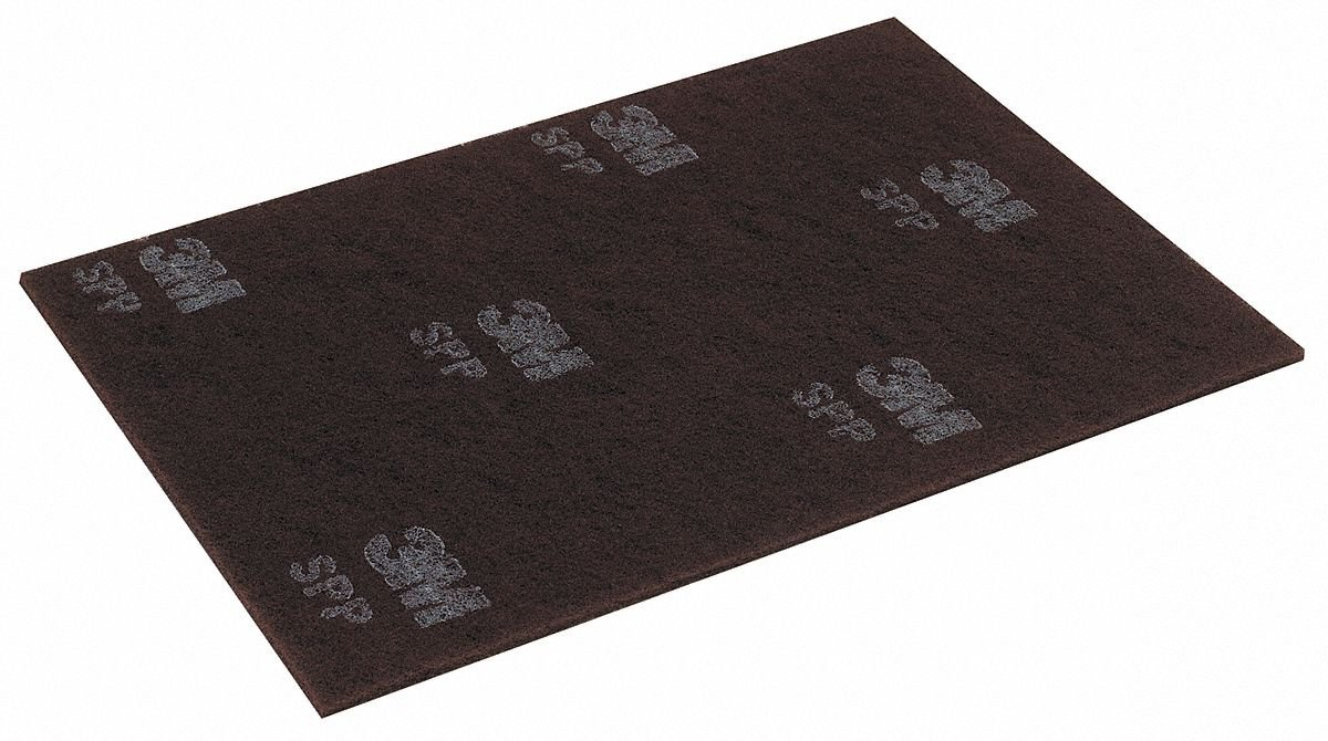 Stripping Pad, 20 In x 14 In, Maroon, PK10