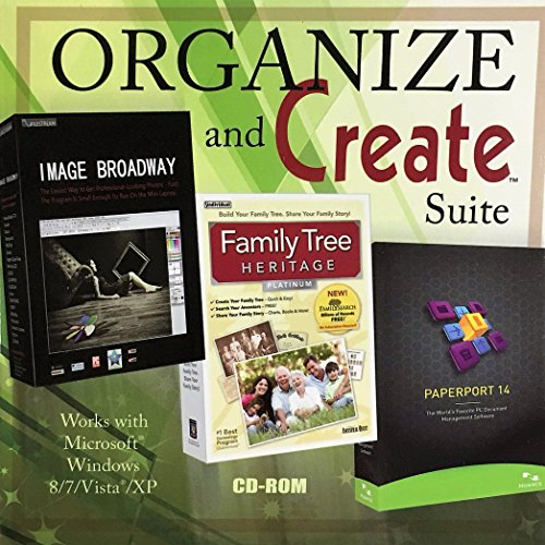 Organize and Create Suite Image Broadway Family Tree Heritage Paperport 14 ()