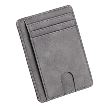 Tarjetero RFID Vintage Men Wallet Credit Card Holder Marca ...