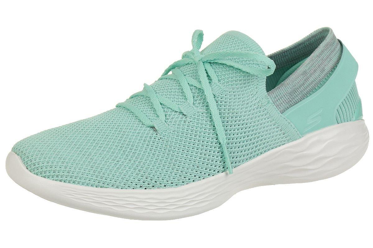 Skechers Damen You-Spirit Slip on Sneaker, Marineblau Mint