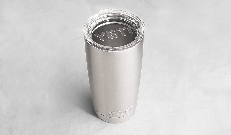 eca4738edef YETI Rambler 20 oz Stainless Steel Vacuum Insulated Tumbler with Lid ...