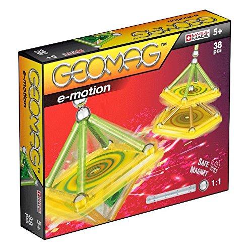 Geomag 033 - E-Motion Magic Spin, 38-teilig