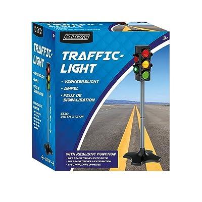 4U-Onlinehandel Juguete Semáforo 72x21, 5cm transporte verkehrslicht plástico Señal de tráfico Luz: Juguetes y juegos