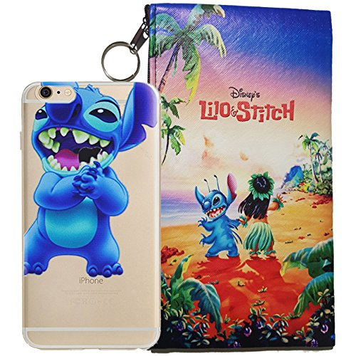- Disney Little Mermaid (Ariel), Snow White, Alice in Wonderland, Lilo & Stitch, Mickey & Minnie Mouse Jelly Clear Case for Apple iPhone 6 / iPhone 6s (4.7