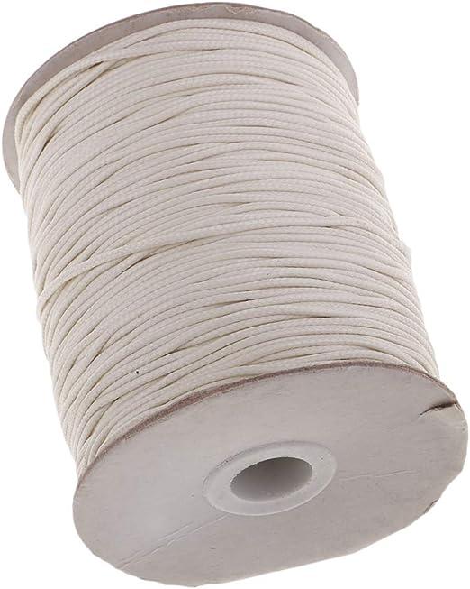 Sharplace Cordón De Algodón Encerado 1.5 Mm para Bolsas Cordones ...