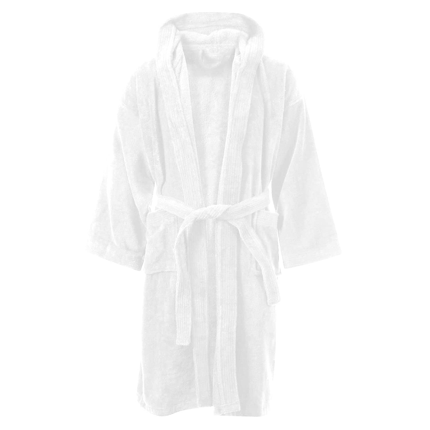 MyShoeStore Kids Boys Girls Bathrobe 100% Egyptian Cotton Luxury ...