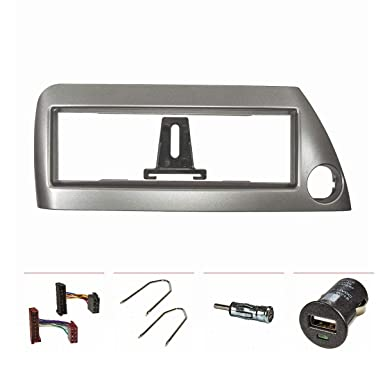 Embellecedor de radio (Set) Ford KA (1996-2008), plata-