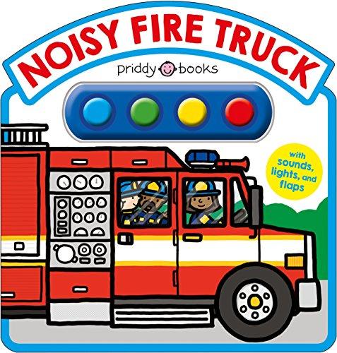 Noisy Fire Truck Sound Book (Simple Sounds) (Kids Books Fire Engine)