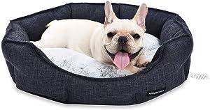 AmazonBasics Round Cuddler Bolster Pet Bed