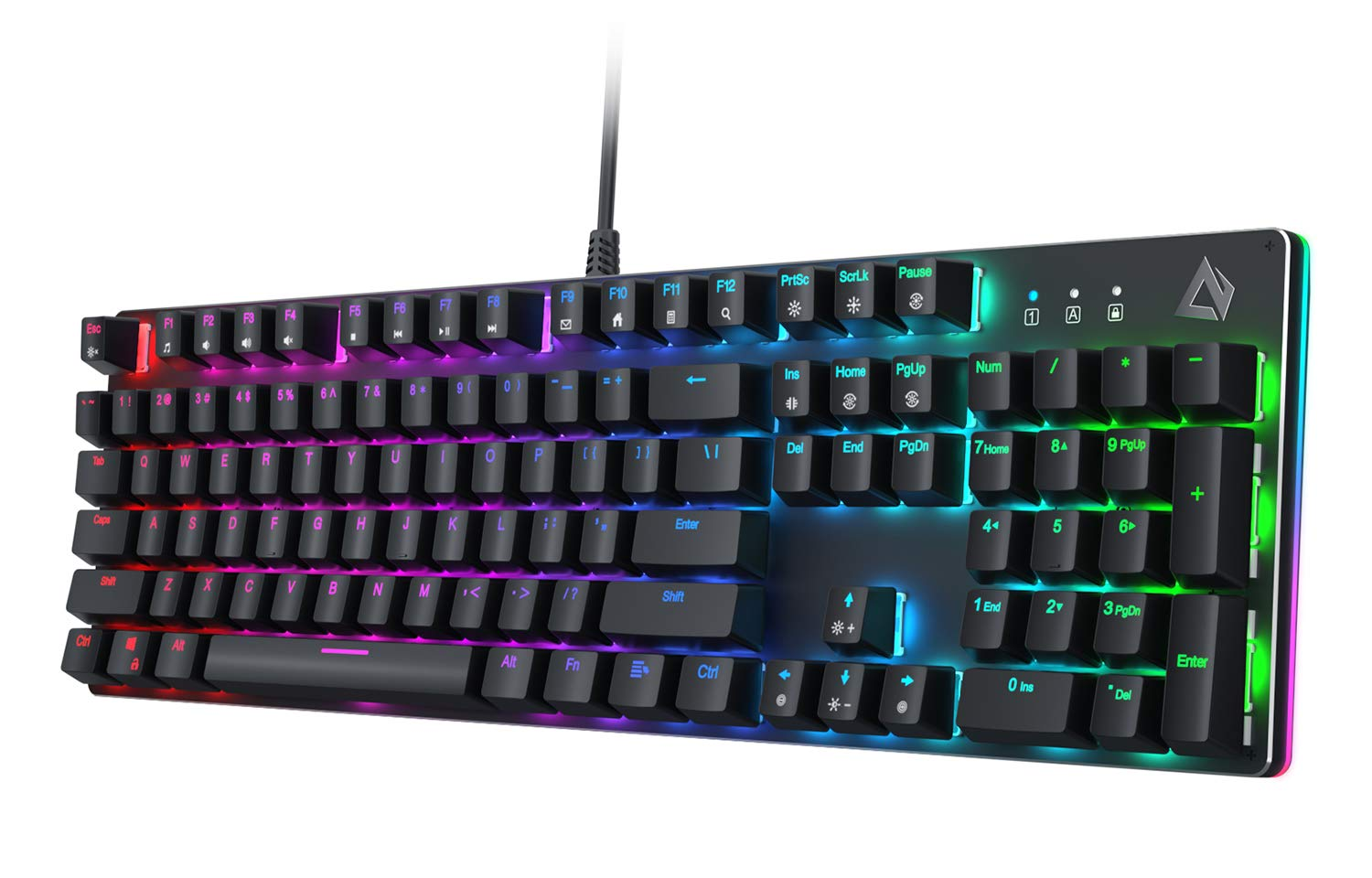 Teclado Mecanico AUKEY con Customizable Backlight & Tactile
