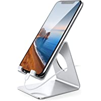 Lamicall Soporte Móvil, Soporte Teléfono - Soporte Dock Base para Teléfono para iPhone 12 Mini, 12 Pro MAX, 11 Pro, XS…