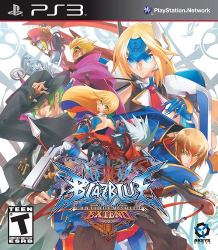 BlazBlue: Continuum Shift EXTEND Limited Edition - Playstation 3 (Games Ps3 Fighting)