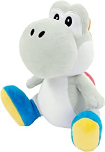 Sanei Super Mario All Star Collection Yoshi Plush Small (White)