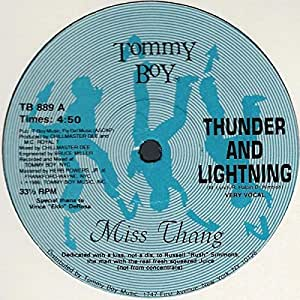 "Thunder And Lightning [12"" Maxi, LC, US, Tommy Boy TB 889]"